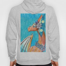 Dragon and Flowers Hoody