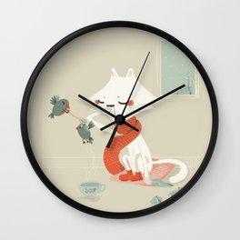 Running nose Wall Clock