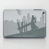 final fantasy iPad Cases featuring Final Fantasy VII by [SilenceCorp.]