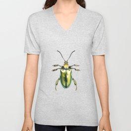 Beetles #2 (Sagra Femorata) Unisex V-Neck