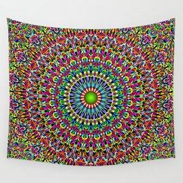 Happy Garden Mandala Wall Tapestry