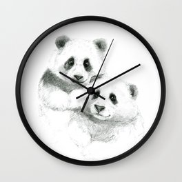 Giant Panda sketch SK064 Wall Clock