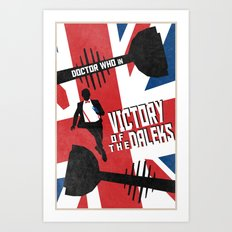 Victory of the Daleks (3 in a series of 13) Art Print