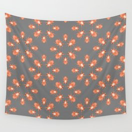 Copper Beetle Wall Tapestry