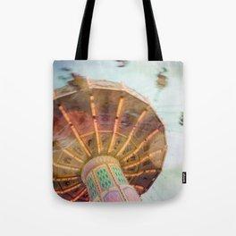 Summer Fling - Whimsical Fairground Modern Home Decor Tote Bag