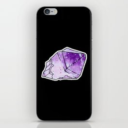 Amethyst Crystal iPhone Skin