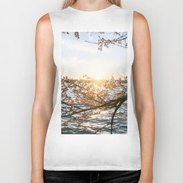 Sun Over the Horizon Biker Tank