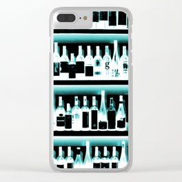 Wine Bottles - version 2 #decor #buyart #society6 Clear iPhone Case