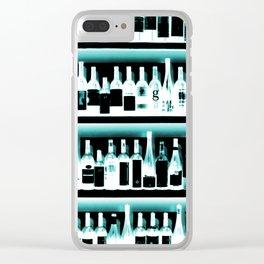 Wine Bottles - version 2 #decor #buyart #society6 Clear iPhone Case