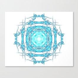 Lighting mandala Canvas Print