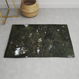 Cherry Blossoms & Pine Trees Rug