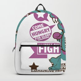 Fight Night Backpack