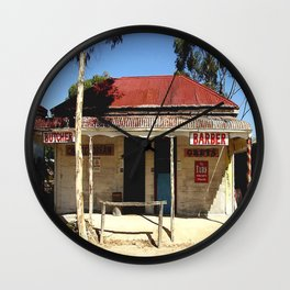 Old Tailem Bend - Australia. Wall Clock