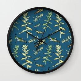 grasshopper Locust Wall Clock