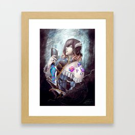 Bloodstained Miriam Framed Art Print