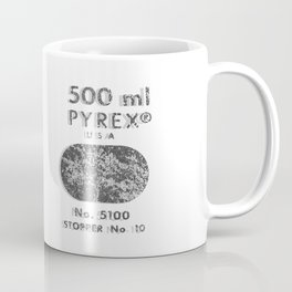Laboratory Glass Graphic Coffee Mug