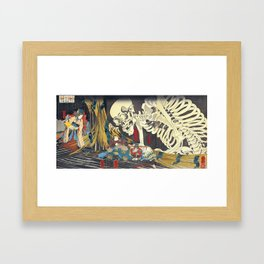 Utagawa Kuniyoshi Takiyasha The Witch Framed Art Print