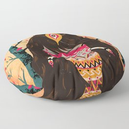 The Tree Witch Floor Pillow