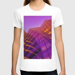 NYC architecture gradient 489 T-shirt