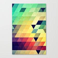 Xyv Canvas Print