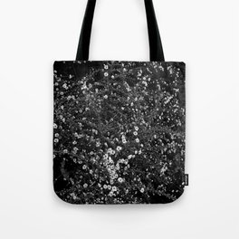 Wht flwr - white flowers Tote Bag