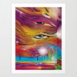 Lenses of Sight Art Print