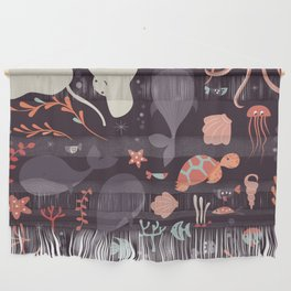 Sea creatures 002 Wall Hanging