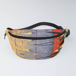Totally Triangles Fanny Pack