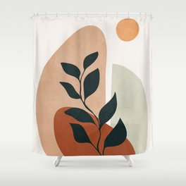 Soft Shapes II Shower Curtain