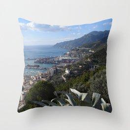 salernbo e la sua costa Throw Pillow