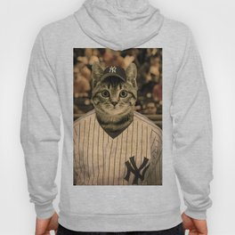 Baseball Cat Hoody