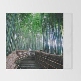Serendipity In Kyoto Throw Blanket