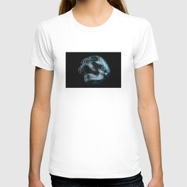 Analogue Glitch Skull T-shirt