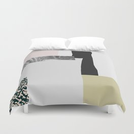 On the wall Duvet Cover