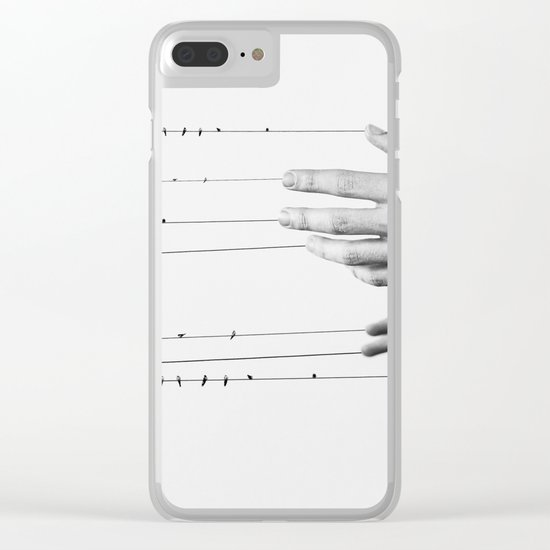 Bound to you Clear iPhone Case