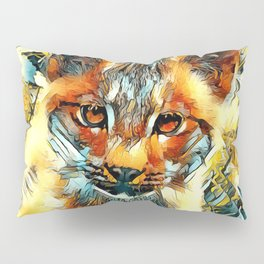 AnimalArt_Cougar_20170601_by_JAMColorsSpecial Pillow Sham