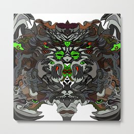 New Creature Creation in Color Metal Print