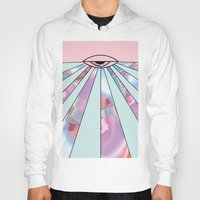 holographic Hoodies featuring Trans Colour Eye by Belinda O'Connell