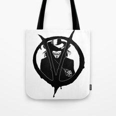 V for Vendetta3 Tote Bag