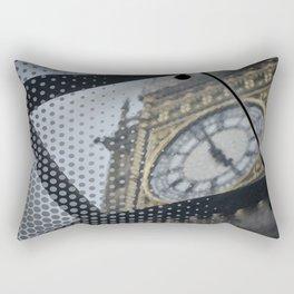 Different View of Ben Clock Tower Rectangular Pillow