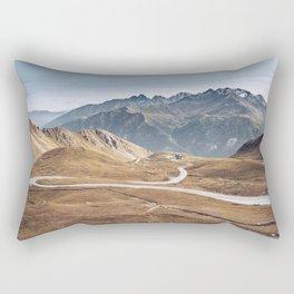 Alpine Roads Rectangular Pillow
