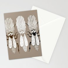 Queen Beehive Stationery Cards