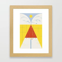 SUMMER QUEST Framed Art Print