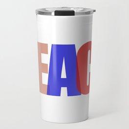 Peace (Color) Travel Mug
