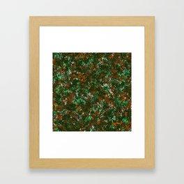 Colorful dots Framed Art Print
