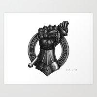 Fire Support Recruiter Art Print