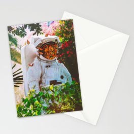 At The Garden Stationery Cards