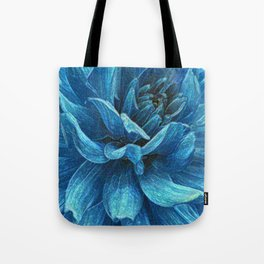 Big blue flower Tote Bag