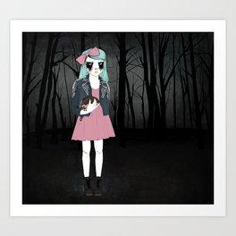 Corpse Paint Art Print