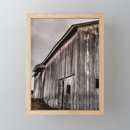 Stately Barn Framed Mini Art Print